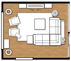 Family Room Layout                                                                                                                                                                                 More #furniturearrangement