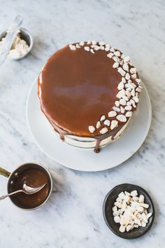 Whiskey-Caramel Gingerbread Cake | POPSUGAR Food