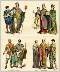 Clothes in the Byzantine Empire. 6th