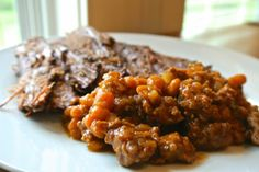 Modern Southern Cook: Picnic Beans --- The perfect savory recipe for Memorial Day parties. Food Therapy, Tasty Kitchen, Recipe Community, Baked Beans, Stuffed Green Peppers, Crockpot Recipes, Dairy Free, Side Dishes, Picnic
