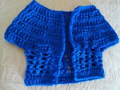 Infants Short Sleeved Sweater Cardigan MADE TO by CrochetGranny4U, $18.00