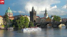 The Charles Bridge, Prague, Czech Republic X