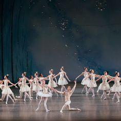 New York City Ballet in Diamonds from Balanchine's 'Jewels' Photo © Paul Kolnik