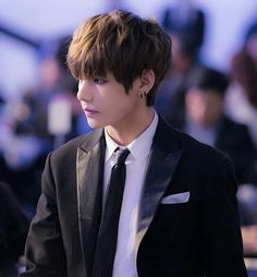 Kim Taehyung 김태형 (V 뷔) was born December 30, 1995 and is yummy...the only reason he's not my bias is because I cannot look him in the eye without dying a little inside. Jesus Christ why are you so sexy!? #biaswrecker