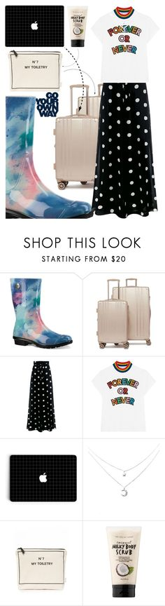 """""""GO YOUR OWN WAY"""" by picale ❤ liked on Polyvore featuring UGG, CalPak, Boutique Moschino, Mira Mikati, Bag-All and Sephora Collection"""