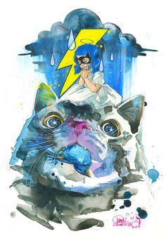 Lora Zombie   Conscience Cat
