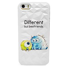 Three Big Eyes Pattern Hard Case for iPhone 5/5S – USD $ 2.99