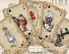 Free Printable Alice in Wonderland Cards - Bing images