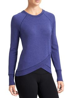 5ab77efd5e33b Criss Cross Sweatshirt - Beyond-soft French terry in the perfect studio  sweatshirt style made