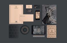 Ideas jewerly branding design visual identity for 2019 Brand Identity Design, Corporate Design, Graphic Design Typography, Business Card Design, Corporate Identity, Identity Branding, Business Cards, Logo Design, Stationary Branding
