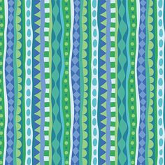 Strands in Multi Blue-Cirque de Millefiori Collection-by Mary Tanana for www.modernyardage... #sew #quilt #fabric #craft