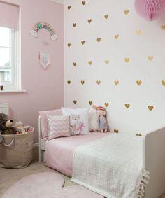 Pink Bedroom Decor, Pink Bedroom For Girls, Pink Bedrooms, Pink Room, Decor Room, Small Girls Bedrooms, Teen Bedrooms, Diy Bedroom, Bedroom Ideas