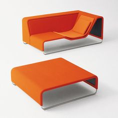 Contemporary Table-Incorporating Couches : TOOaPICNIC Chill