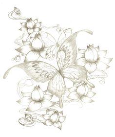 butterfly tattoo by BullettKat17.deviantart.com on @deviantART