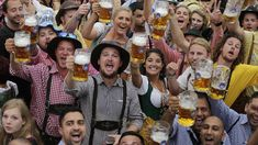 Oktoberfest-Germany's largest popular festival and one of the largest in the world with annual average visits exceeding six million visitors.