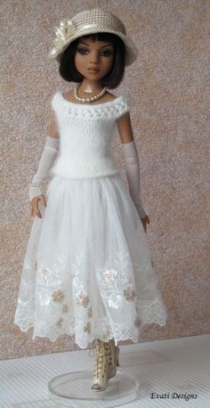 OOAK Outfit for Ellowyne Wilde by *evati* via eBay, SOLD 6/29/14   $200.46