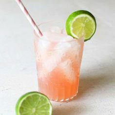 Margarita à la limonade rose