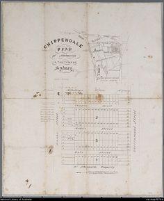 dictionary of sydney region map