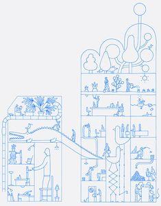 Vincent Godeau Childrens Books, Diagram, Illustrations, Strasbourg, Murals, Painting, Design, Artist, Children's Books