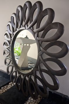 beautiful David Ross mirror