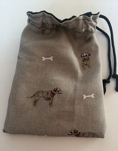 Border Terrier dog treat pouch bag by MelodysHandmadeGifts on Etsy Dog Treat Pouch, Treat Bags, Border Terrier, Terrier Dogs, Pouch Bag, Dog Walking, Dog Gifts, Dog Treats, Dog Training