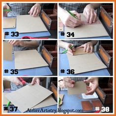 Atelier Artistry: Tutorial Tuesday: MTG (Magic the Gathering) Deck Box