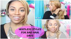 Lazy Hair Days/Heatless Hair Days