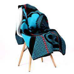 Basotho Khotso Acrylic – Blue & Red from Basotho Blankets - (Save Movie Black, Blanket Coat, Fresh Outfits, Ankara Fabric, African Culture, African Design, Wild Hearts, Buy Shoes, African Fashion