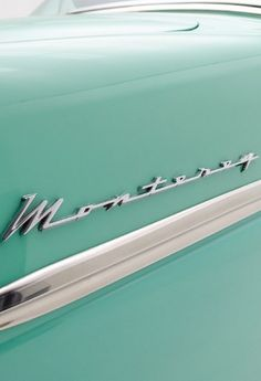 Beautiful rare 1954 Mercury Monterey. Click to see the full photos #ClassicCool #Monterey #spon