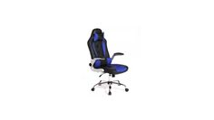 New Blue High Back Racing Car Style Bucket Seat Office Desk Gaming Chair for $79.99 at Rakuten.com