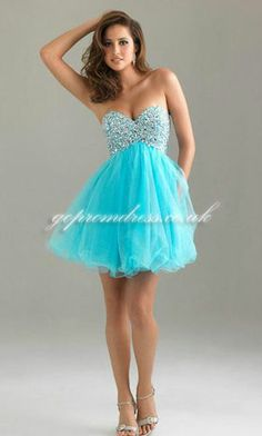 2303 Clarisse Homecoming Dress 2014 | Tulle prom dress and Blue shorts