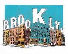 Brooklyn silkscreen