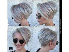 Galeria krótkich fryzur damskich: z grzywką, pixie cut, pixie bob, undercut z wygolonym bokiem. 30 najlepszych krótkich fryzur damskich różnego rodzaju.