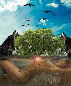 Série Elementos da Natureza - TERRA - Virginia  Lucia