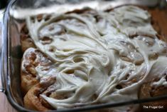 Wednesday Baking | Overnight Cinnamon Rolls (with Cream Cheese Frosting)