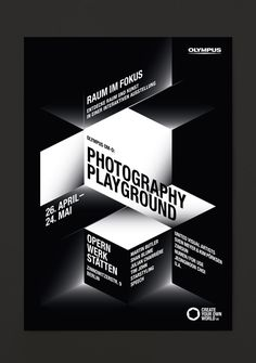 Olympus — Visual Identity for Photography Playground - Stahl R