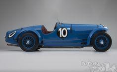 Delahaye 135 S Figoni - Ex Louis Villeneuve - four times Le Mans entrant Biplace course par Figoni 1935 for sale