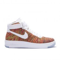Nike Air Force 1 AF1 Ultra Flyknit Mid - 817420-007 | everysize.com