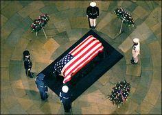 reagan's casket | My Trip to Washington D.C. for President Reagan's Funeral