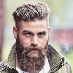 Cool 60 Cool and Gentle Full Beard Styles from https://www.fashionetter.com/2017/04/28/cool-gentle-full-beard-styles/