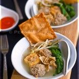 Indonesian Beefball Soup