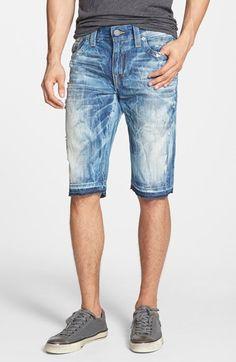 True Religion Brand Jeans 'Ricky' Denim Shorts available at #Nordstrom