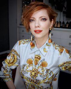 Julia Petit tutorial para look do terceiro dia da semana de moda