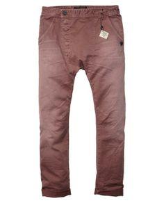 Low Crotch Asymetrical Closure Pants - Scotch & Soda
