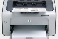 HP Laserjet P1007 Driver Download | Support HP Drivers
