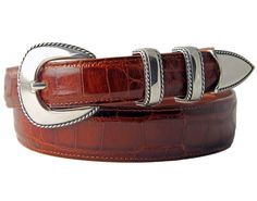 Lariat silver belt buckle by Randall Moore for - Tom Taylor Santa Fe