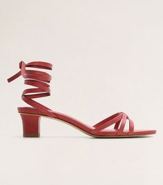 Want to snap up the best high-street sandals before everyone else? Strappy Heels, Low Heels, Carrie Bradshaw Style, New Look Shoes, Pinterest Photos, Who What Wear, Strap Sandals, Black Sandals, Mango