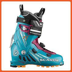 Scarpa Women s F1 Ski Boots Arctic Blue   Purple 27 - Outdoor shoes for  women ( 88fe5803735