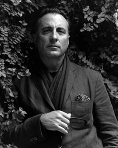 andy garcia (we all have those celeb crushes we can't explain--i've loved him since i was a kid, i don't know why but i love andy garcia) ha!