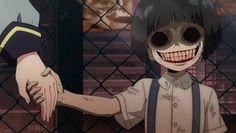 Sousei no Onmyouji ♡ Creepy little Kid *-* Arte Horror, Horror Art, Yandere, Manga Gore, Dibujos Dark, Manga Anime, Anime Art, Twin Star Exorcist, Japanese Horror